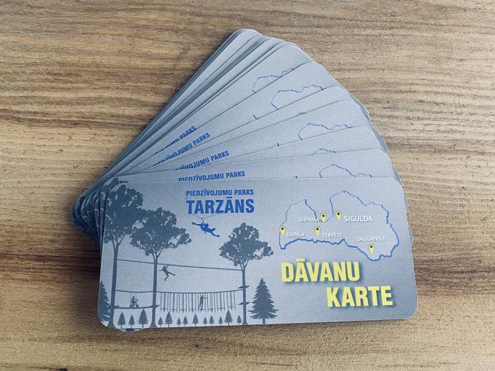 Срок действия подарочных карт парка «Тарзан» продлён до 20.10.2022.